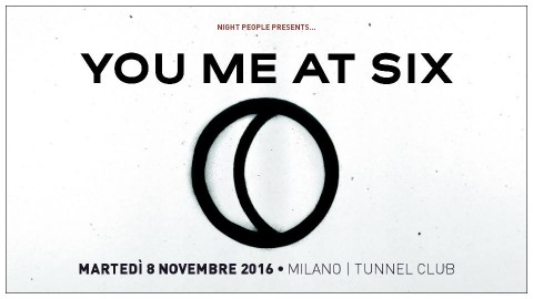 You Me At Six - Tunnel Club 2016 - Promo