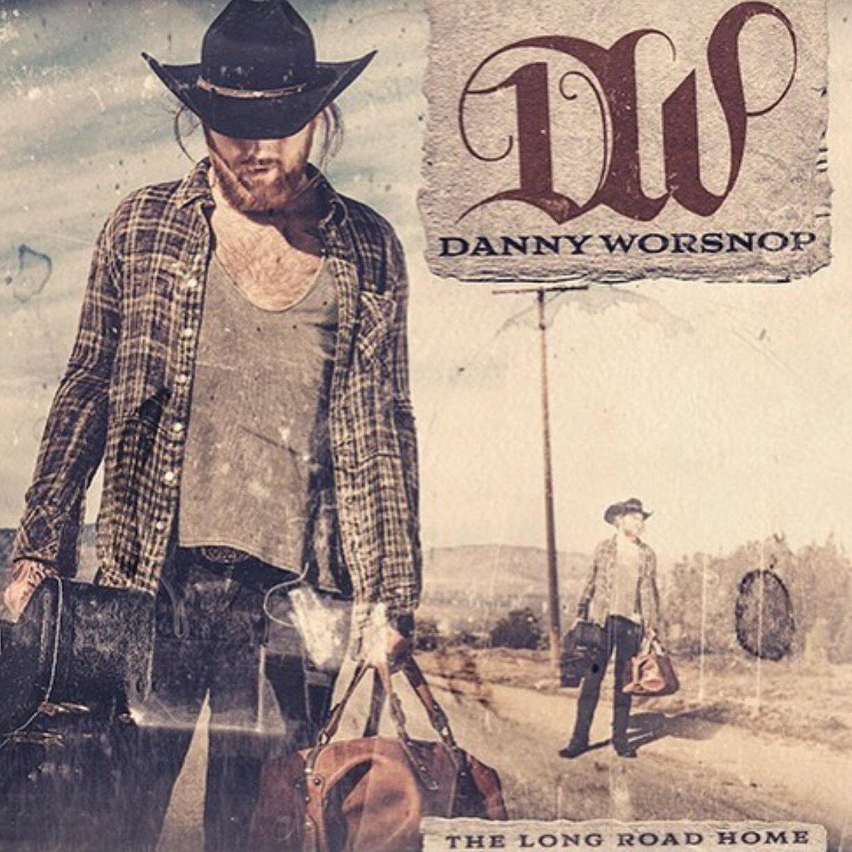 Danny Worsnop - The Long Road Home - Album Cover