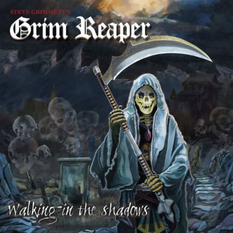 Grim Reaper - Walking In The Shadows - Album Cover