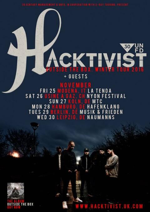 Hacktivist - Outside The Box Winter Tour 2016 - Promo