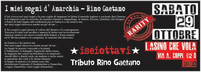 Iseiottavi - Tributo Rino Gaetano - L' Asino Che Vola 2016 - Promo