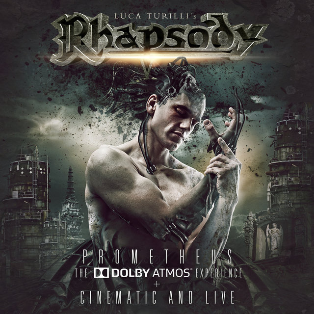 Luca Turilli Rhapsody - Prometheus The Dolby Atmos Experience Cinematic And Live - Album Cover