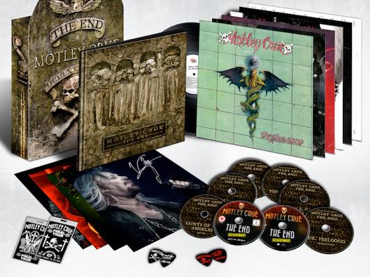 Motley Crue - Motley Crue The End Box Set - Box Set Cover