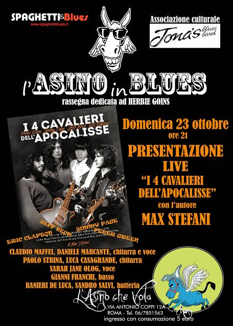 Max Stefani - I 4 Cavalieri Dell'Apocalisse - L' Asino Che Vola 2016 - Promo