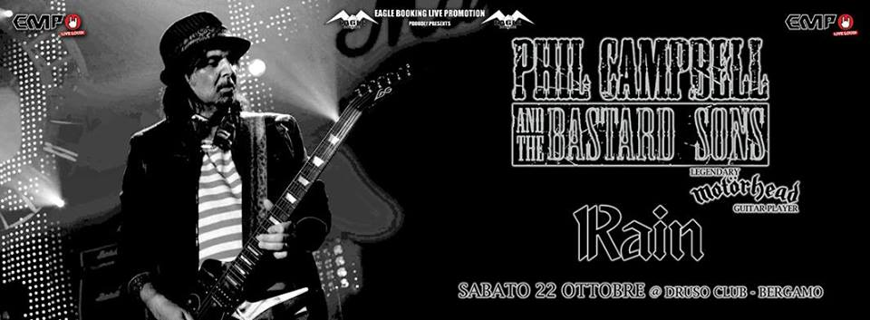 Phil Campbell And The Bastard Sons - Rain - Druso 2016 - Promo