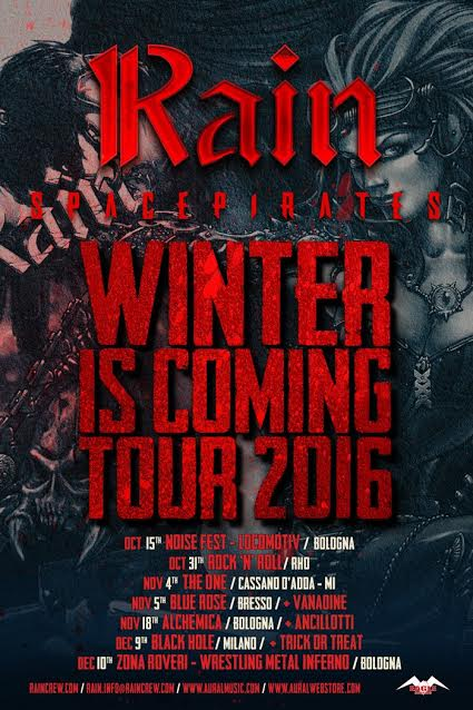 Rain - Spacepirates Winter Is Coming Tour 2016 - Promo