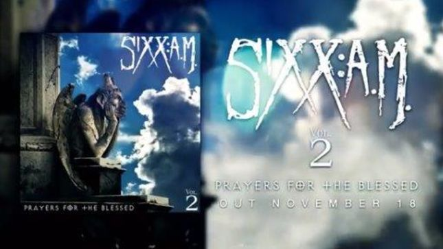 Sixx AM - Vol 2 Prayers For The Blessed - Album Cover