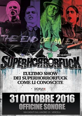 Superhorrorfuck - The End Of An Era - Officine Sonore 2016 - Promo