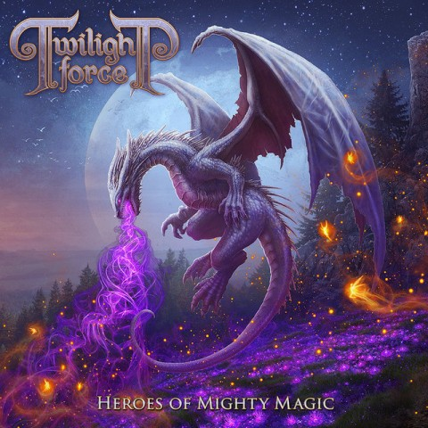 Twilight Force - Heroes Of Mighty Magic - Album Cover