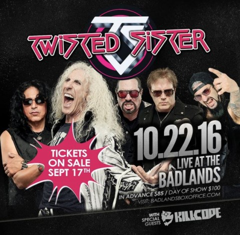 Twisted Sister - Live At The Badlands 2016 - Promo