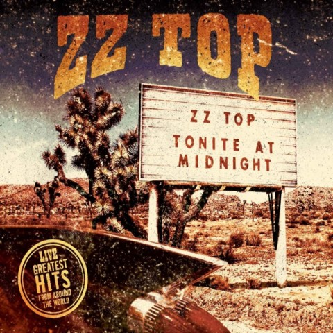 ZZ Top - Greatest Hits Live - Album Cover