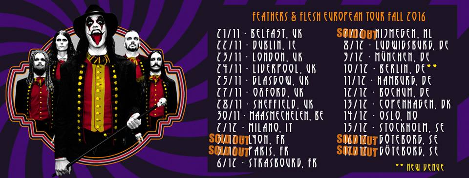 Avatar - Feathers & Flash European Tour 2016 - Promo