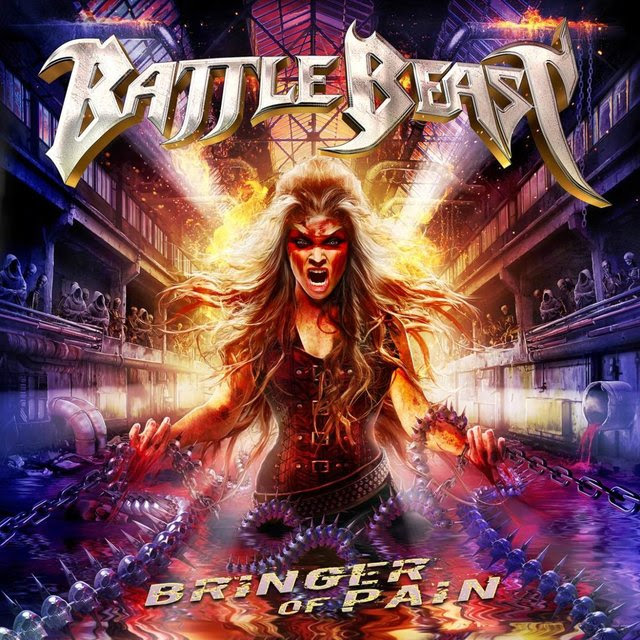 Battle Beast - Bringer Of Pain - Album Cover