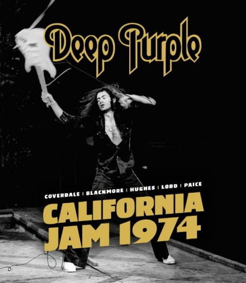 Deep Purple - California Jam 1974 - DVD - Blu Ray Cover