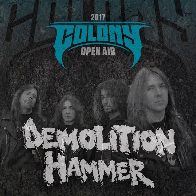 Demolition Hammer - Colony Open Air 2017 - Promo