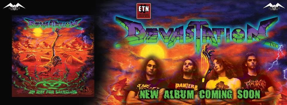 Devastation Inc. - No Way For Salvation - Album Cover