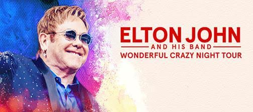 Elton John And His Band - Wonderful Crazy Night Tour 2017 - Promo