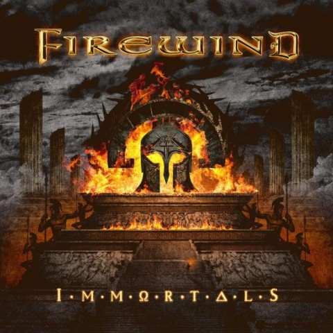 Firewind - Immortals - Album Cover