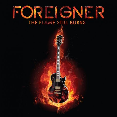 Foreigner - The Flame Still Burns - EP Cover