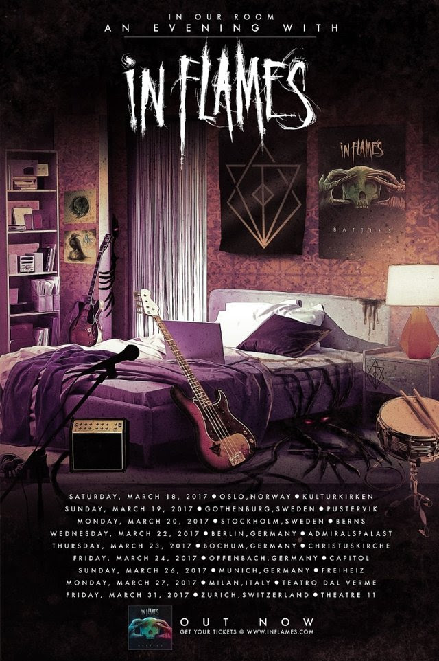 In Flames - In Our Room An Evening With In Flames - Tour 2017 - Promo