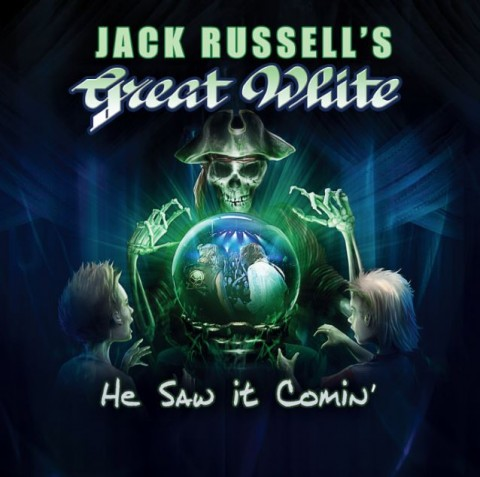 Jack Russell's - Great white - He Saw It Coming - Album Cover