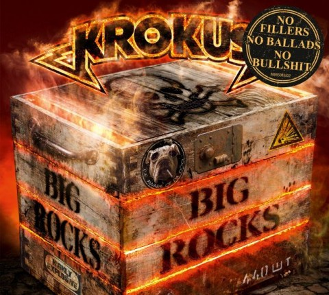 Krokus - Big Rocks - Album Cover