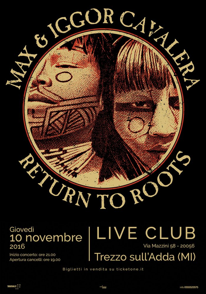 Max & Iggor Cavalera - Return To Roots - Live Club 2016 - Promo