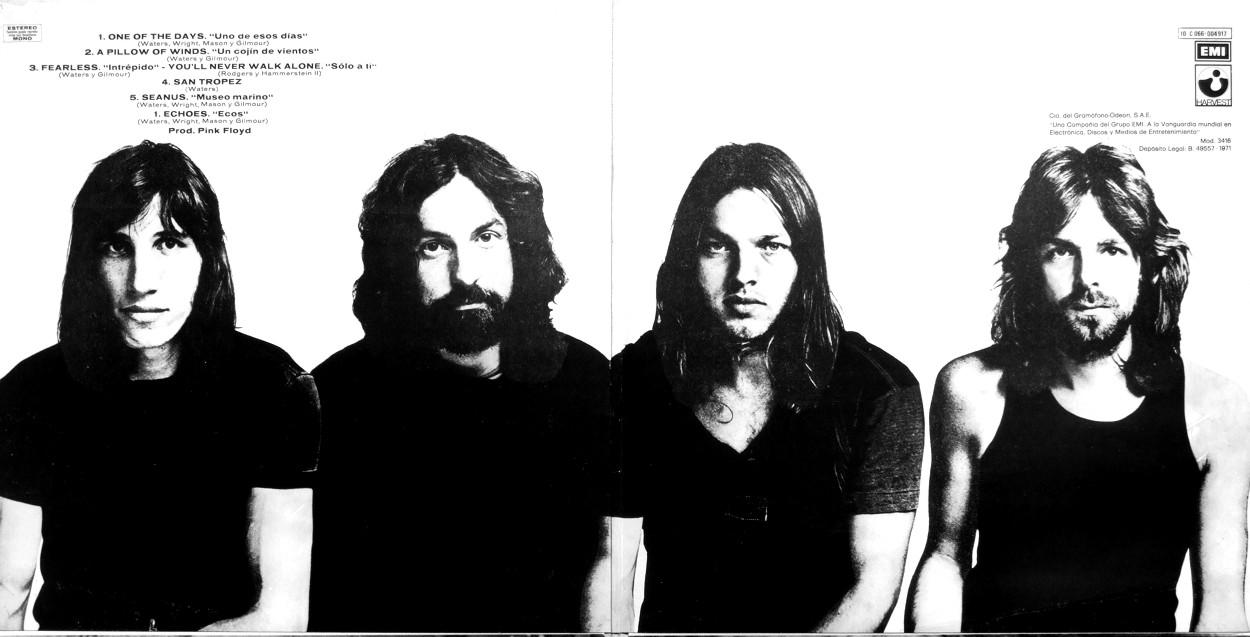 "5 novembre 1971 - esce ""Meddle"" dei Pink Floyd"