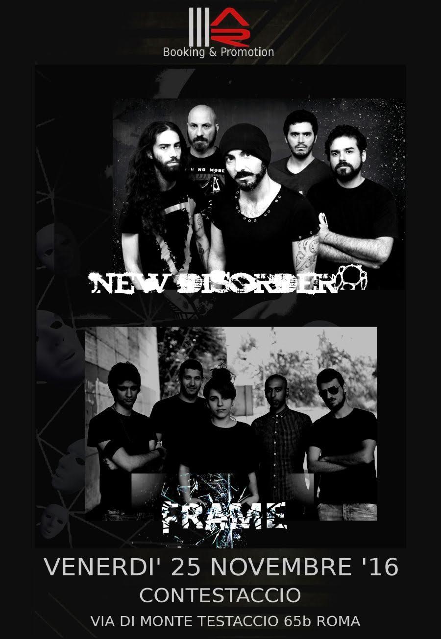 New Disorder - Frame - Contestaccio 2016 - Promo