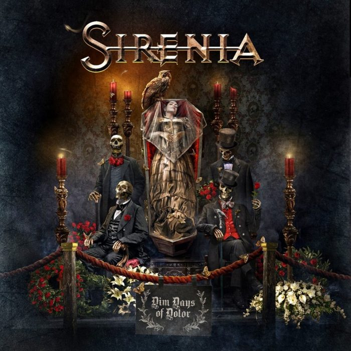 Sirenia - Dim Days Of Dolor - Album Cover