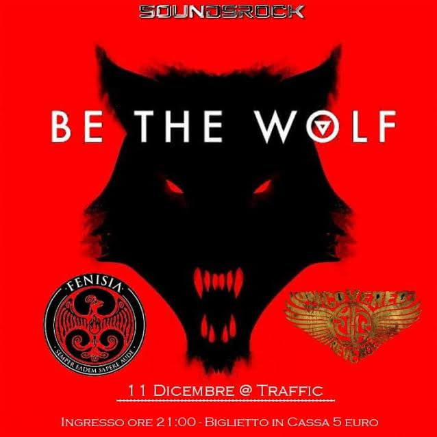 Be The Wolf - Fenisia - Uncovered For Revenge - Traffic Live Club 2016 - Promo
