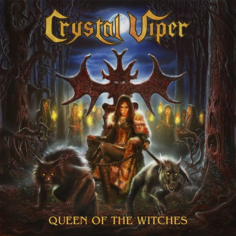 Crystal Viper - Queen Of The Witches - Album Cover