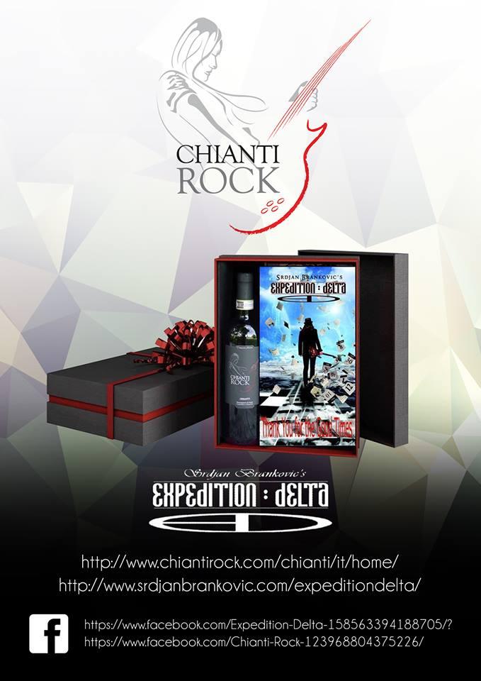 Expediction Delta - Chianti Rock - Wine Cover