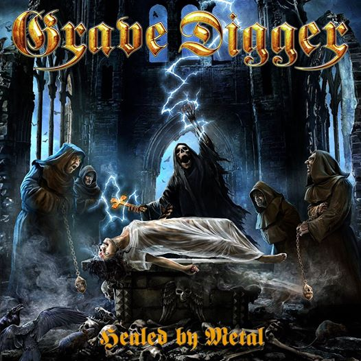 Grave Digger - Healed By Metal - Album Cover