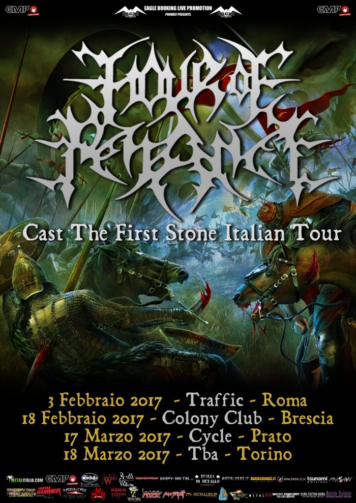 Hour Of Penance - Cast The First Stone Italian Tour 2017 - Promo