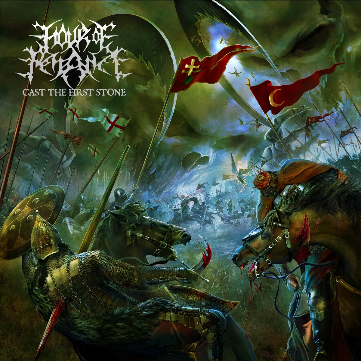 Hour Of Penance - Cast The First Stone - Album Cover