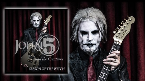 John 5 And The Creatures - Season Of The Witch - Album Cover