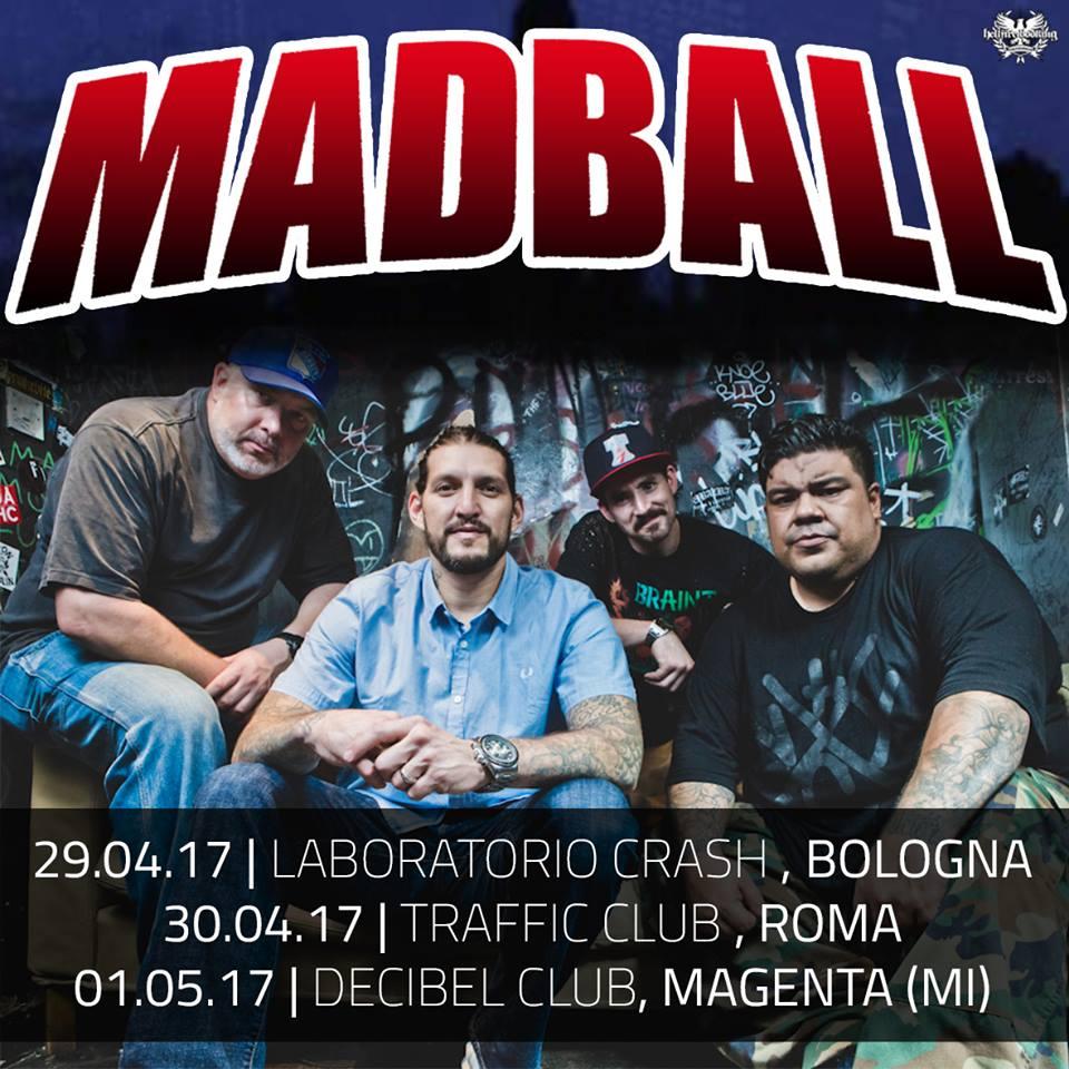 Madball - Tour 2017 - Promo