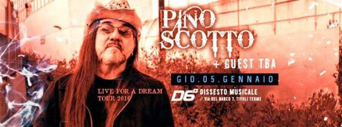 Pino Scotto - Dissesto Musicale - Live For A Dream - Tour 2017 - Promo