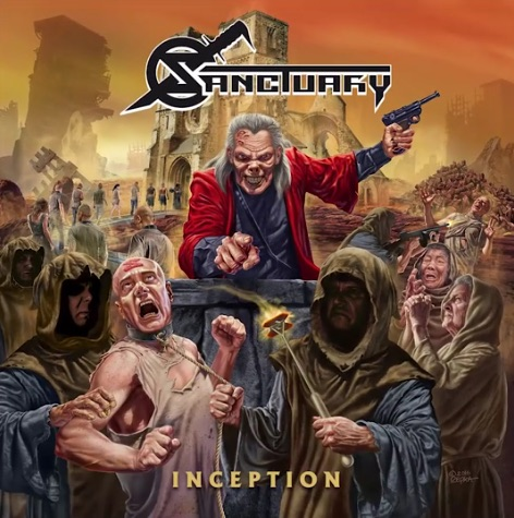 Sanctuary - Inception - Album Cover