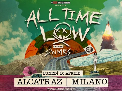 All Time Low - SWMRS - Alcatraz Tour 2017 - Promo