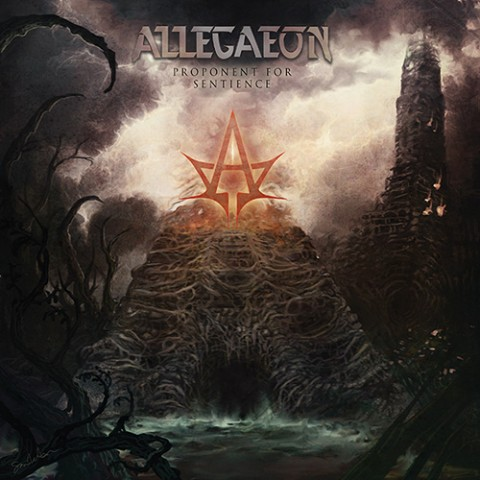 Allegaeon - Proponent For Sentience - Album Cover