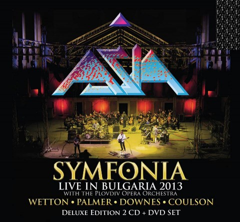 Asia - Symfonia Live In Bulgaria 2013 - Album Cover