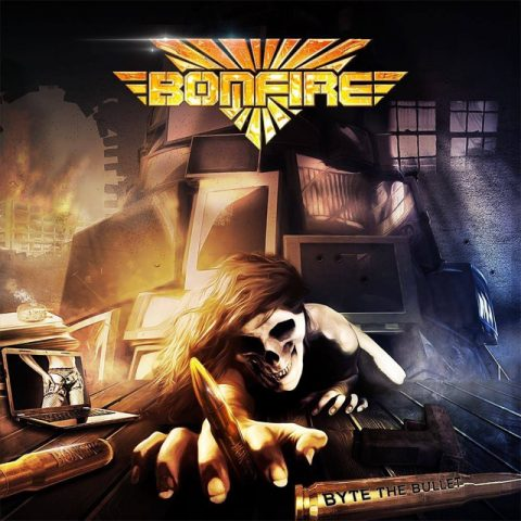 Bonfire - Byte The Bullet - Album Cover