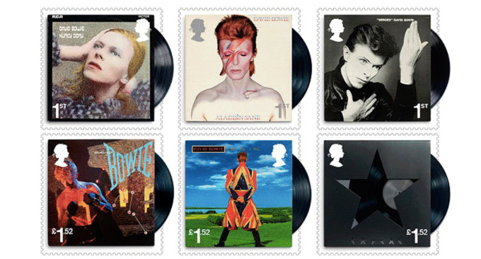 David Bowie - Stamp Cover