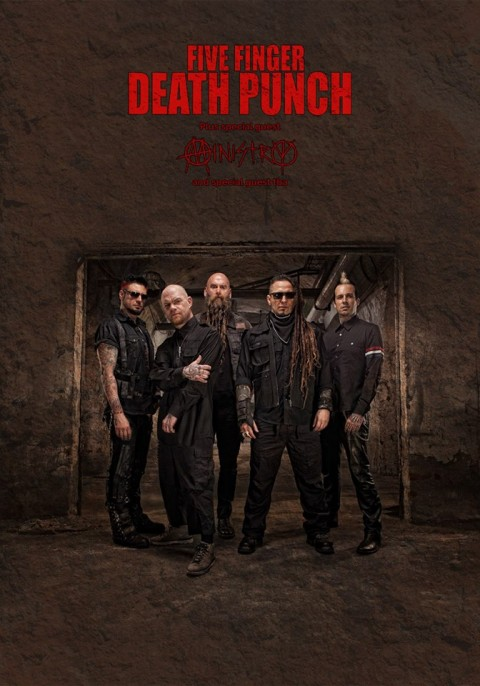Five Finger Death Punch - Ministry - Market Sound - Tour 2017 Promo