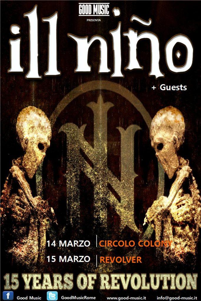 Ill Nino - 15 Years Of Revolution - Tour 2017 - Promo