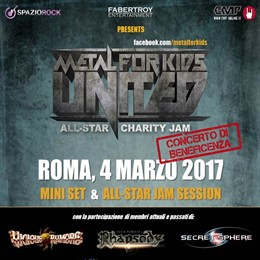 Metal For Kids United - Crossroads Live Club - 2017 - Promo