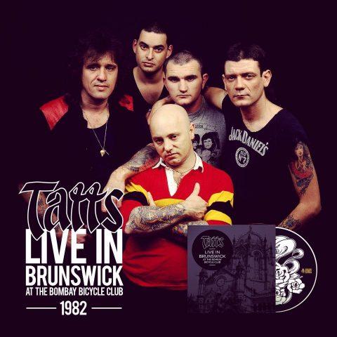 Rose Tattoo - Live In Brunswick - Album Cover