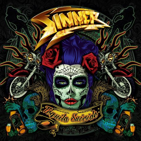 Sinner - Tequila Suicide - Album Cover